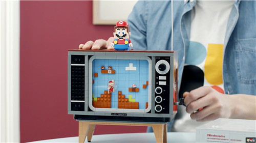 乐高联合任天堂推出NES乐高积木 画面可动真能玩 红白机 NES 乐高 任天堂 任天堂SWITCH  第9张