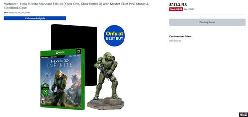 百思买推出《光环:无限》套装 包含士官长手办 微软 百思买 士官长 光环:无限 微软XBOX  第2张