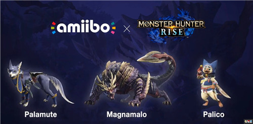 《怪物猎人:崛起》Amiibo售价泄露 高于普通水平 Switch Amiibo 怪物猎人:崛起 任天堂SWITCH  第1张